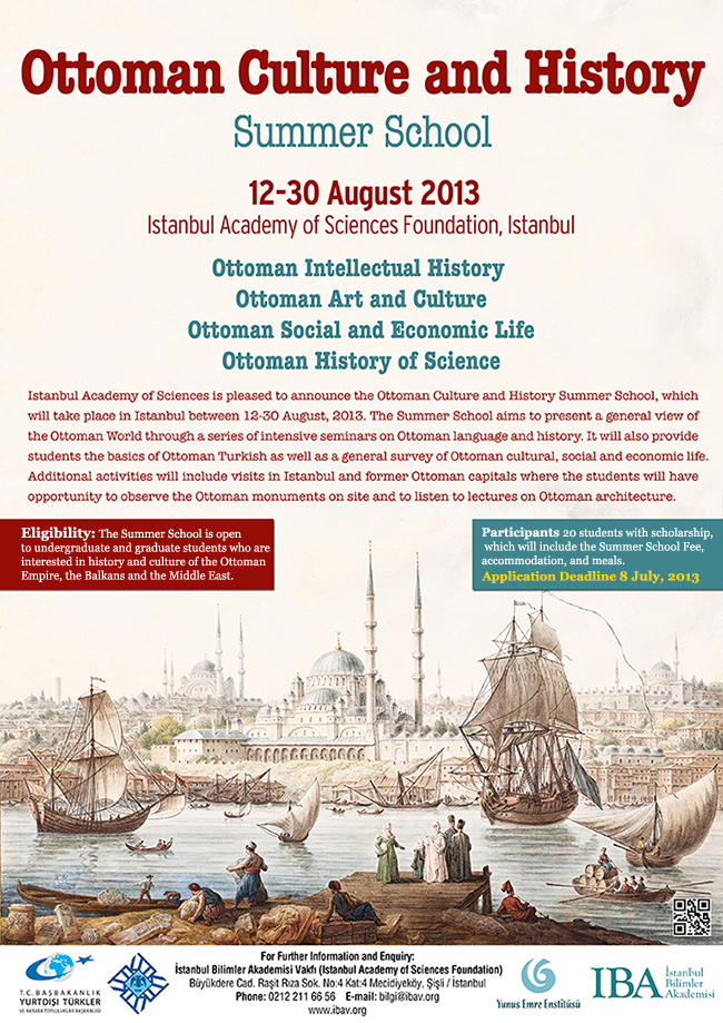 Ottoman Culture and History Summer School