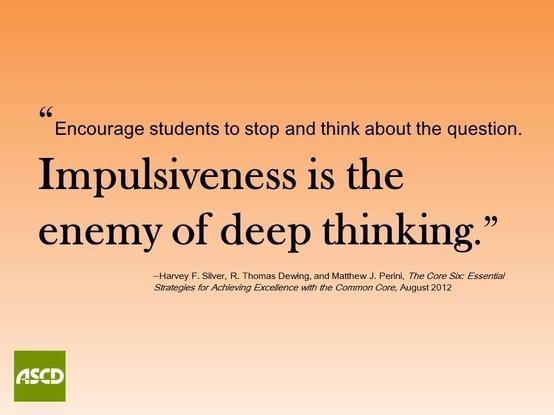 impulsiveness