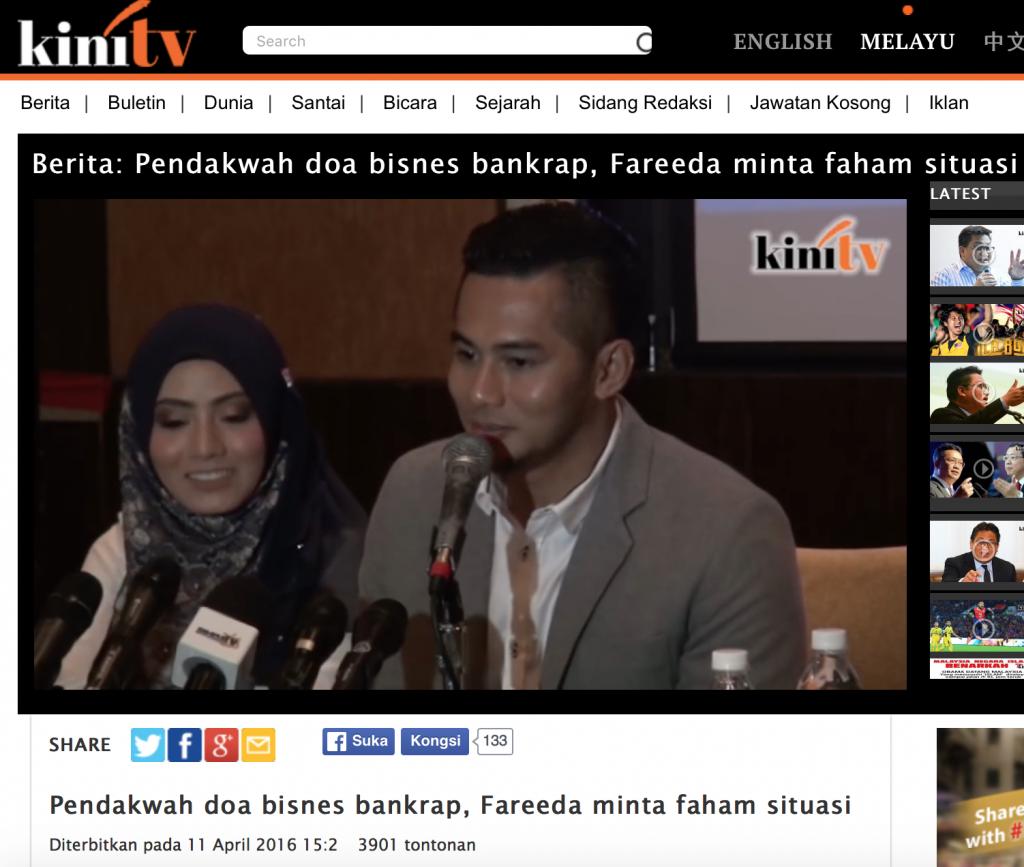 Sidang Media Tudung Fareeda